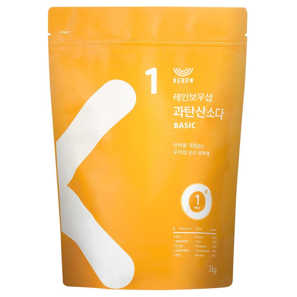 레인보우샵 과탄산소다 베이직 리필, 3kg, 1개