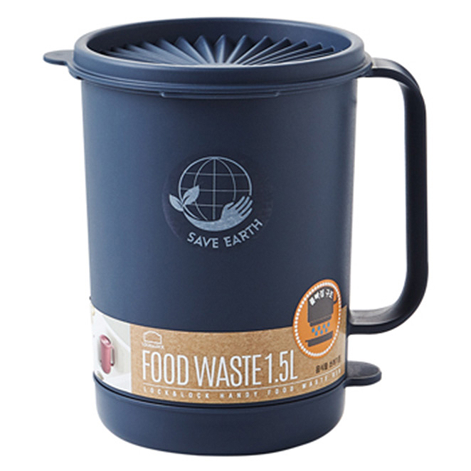 락앤락 음식물 쓰레기통 배수형 1.5L LDB502, 혼합 색상