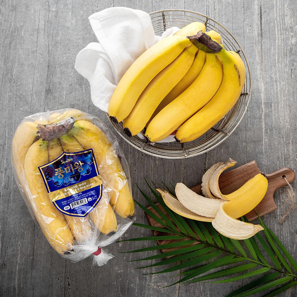 스미후루 풍미왕 바나나, 1,200g, 1개