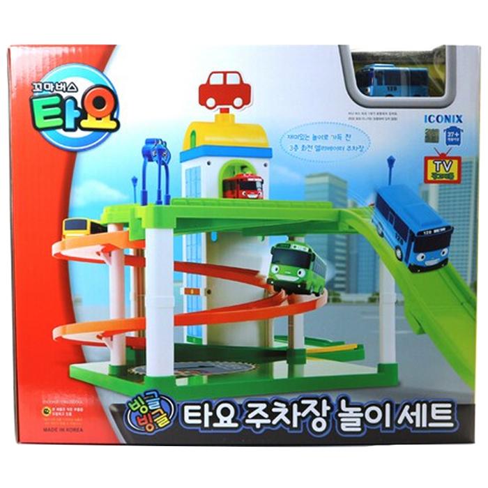 타요 빙글빙글 주차장 놀이세트, 본상품선택