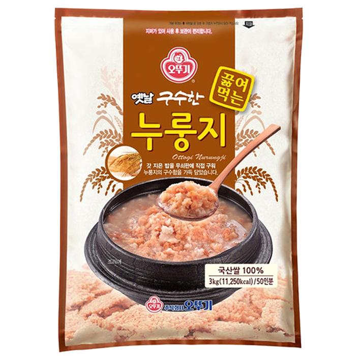 오뚜기 옛날 구수한 누룽지 3kg, 1개