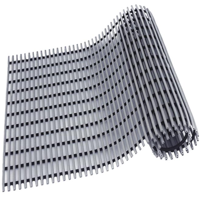 월광매트 일반형 미끄럼 방지 매트 60 x 100 cm, 회색, 1개