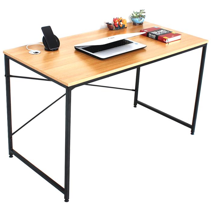 노노스 위든 1200 책상, 블랙프레임 + 오크상판