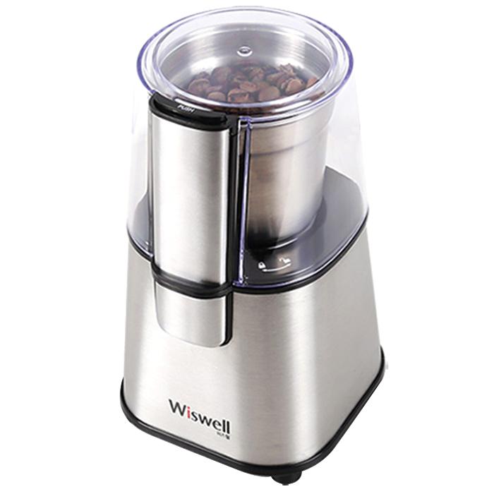 위즈웰 커피 그라인더 WSG-9100, 실버, 1개