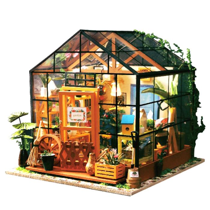아디코 시그니처 하우스 미니어쳐 DIY 키트, 홈 가드닝