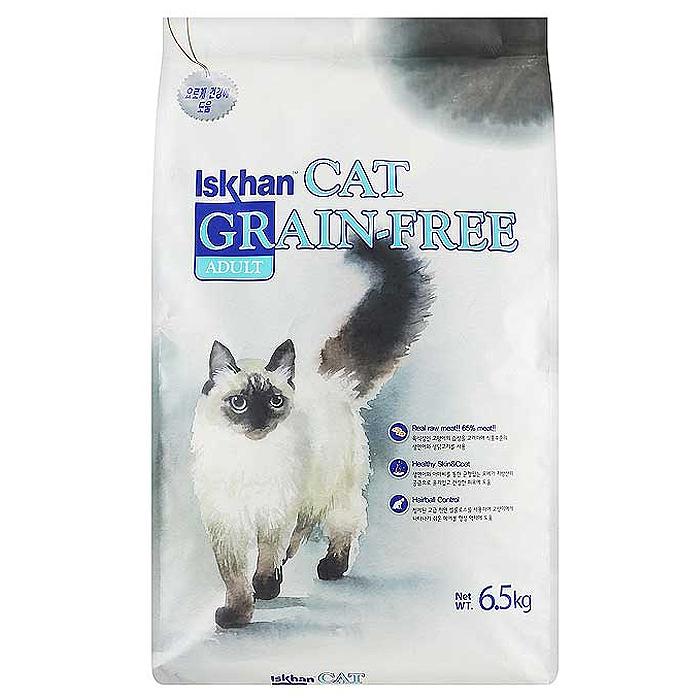 이즈칸 캣 어덜트 그레인프리 고양이 사료, 6.5kg, 1개