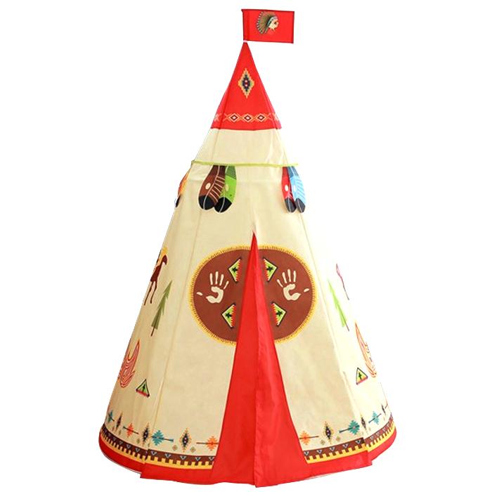 아이플러스 키즈 인디언 티피 텐트, 혼합 색상