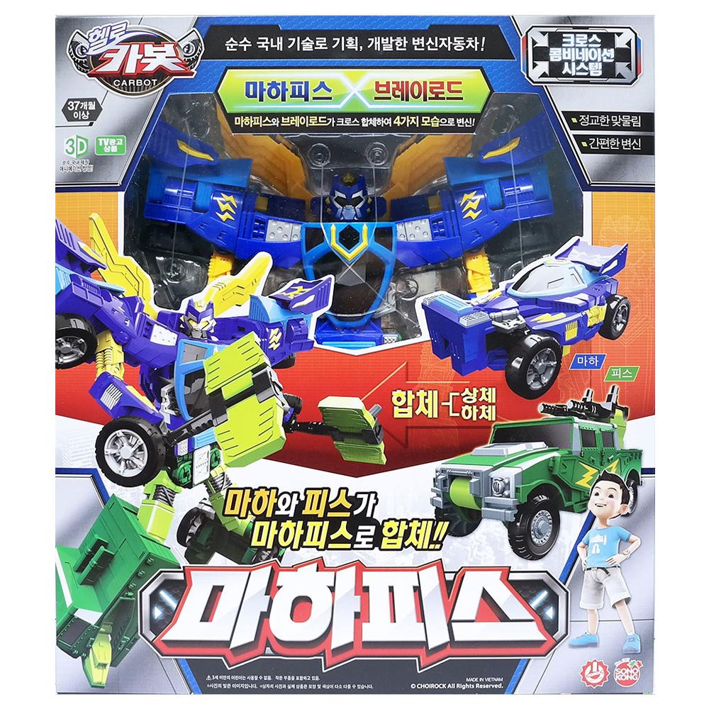 헬로카봇 마하피스 로봇장난감, 혼합 색상