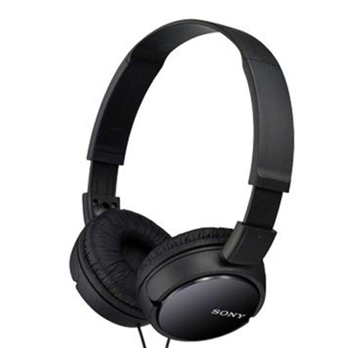 소니 헤드폰 MDR-ZX110AP, 블랙