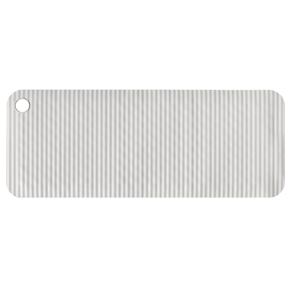 이케아 DOPPA 욕조매트 84 x 33 cm, 라이트그레이, 1개