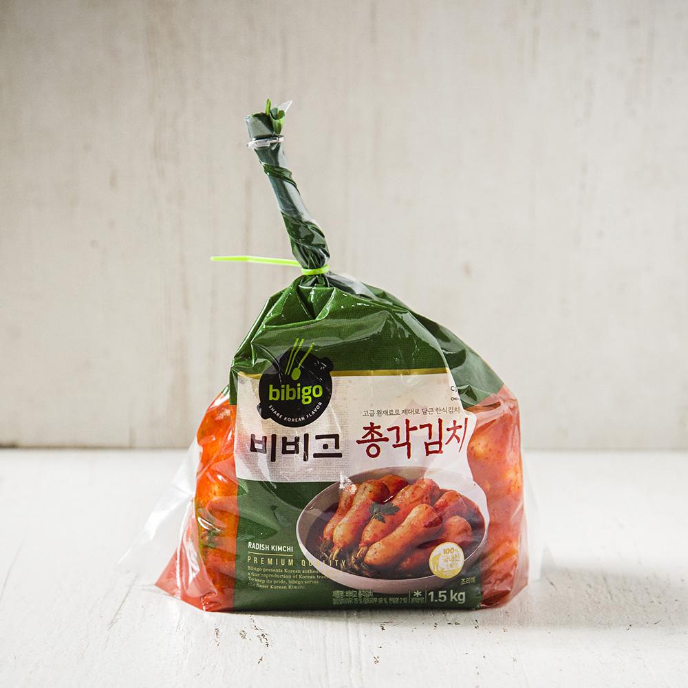 비비고 총각김치, 1.5kg, 1개