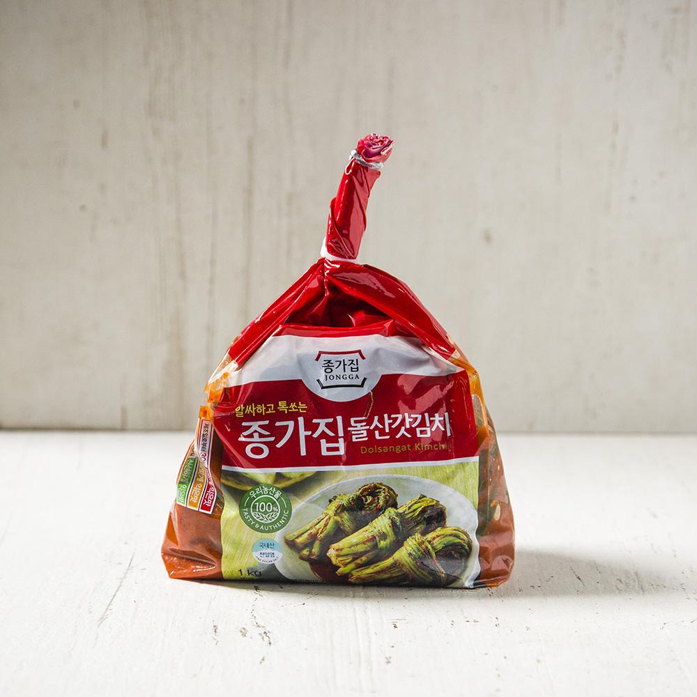 종가집 돌산갓김치, 1kg, 1개