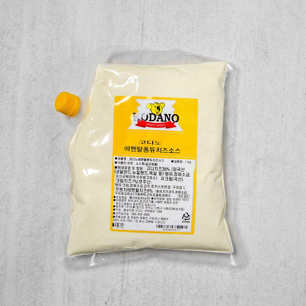 코다노 에멘탈퐁듀치즈소스, 1kg, 1개