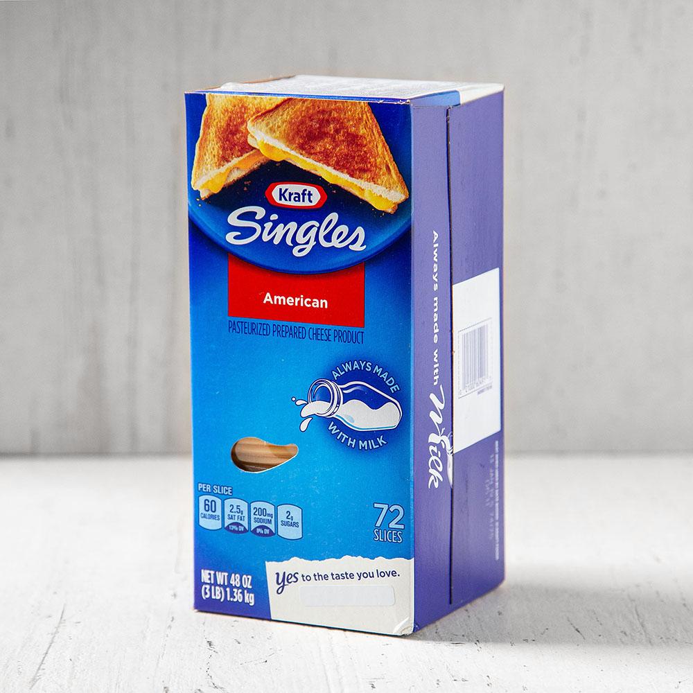 크라프트 싱글즈 아메리칸 치즈 72매입, 1.36kg, 1개