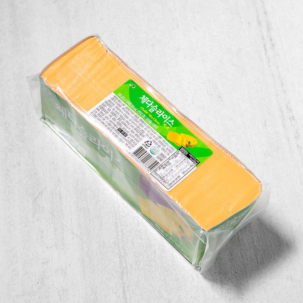 드빈치 체다슬라이스치즈 100매입, 1800g, 1개
