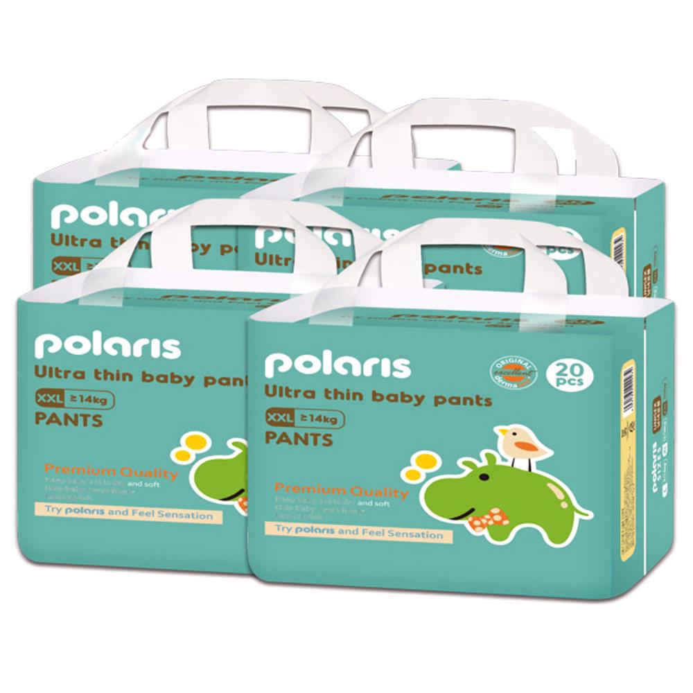 폴라리스 울트라씬 팬티형 기저귀 아동공용 XXL 6단계(14kg~), 80매
