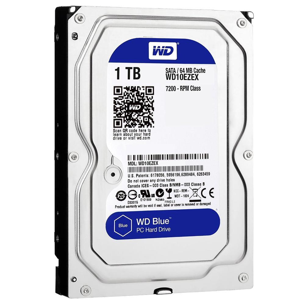 WD HDD 3.5 1TB, 4, 1048576MB