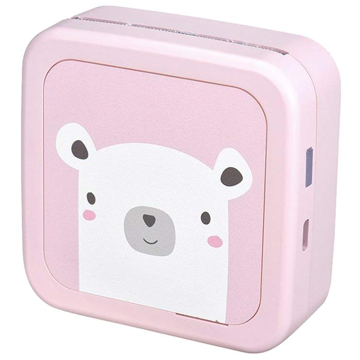 샤오미 메모버드 포토프린터 핑크, 단일 상품