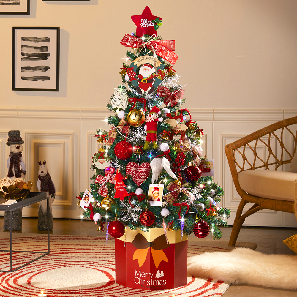 하우쎈스 크리스마스 트리 풀세트, 와인