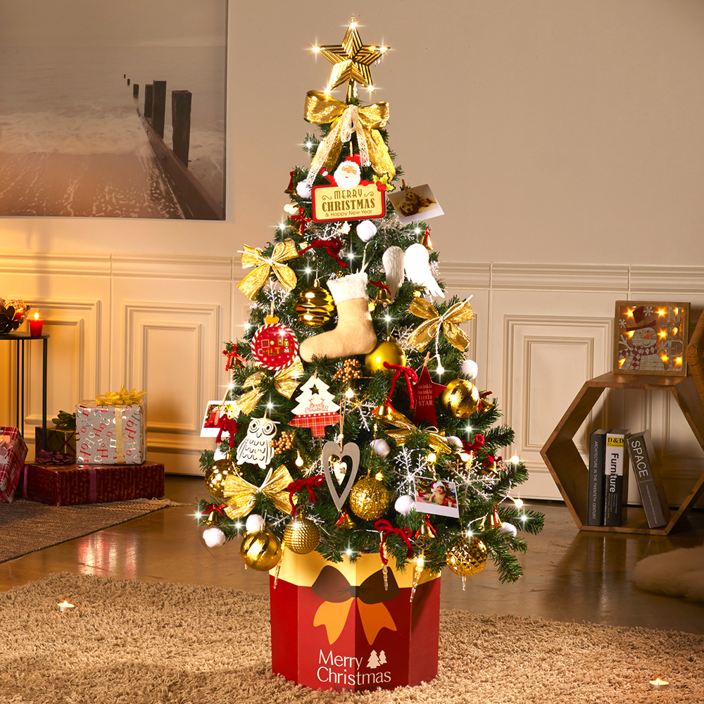 하우쎈스 크리스마스 트리 풀세트, 골드
