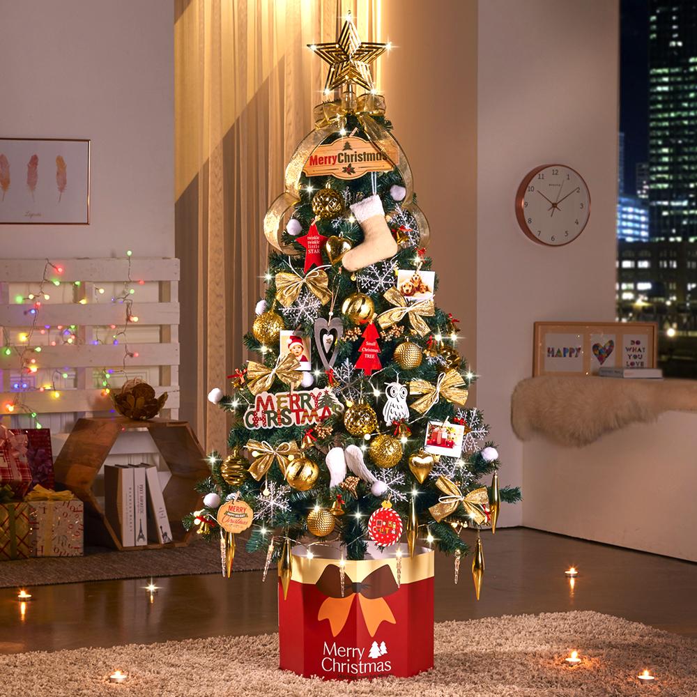 하우쎈스 크리스마스 트리 풀세트, 골드브라운
