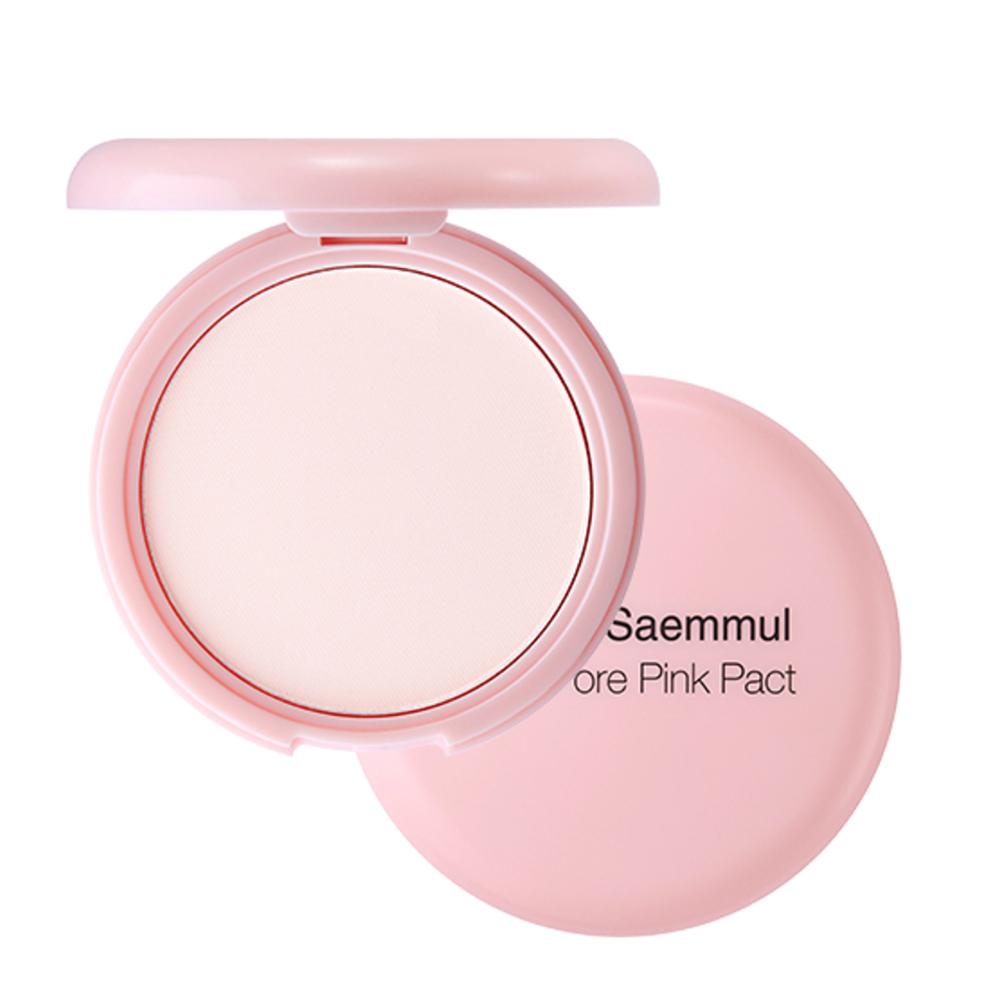 더샘 샘물 퍼펙트 포어 핑크 팩트 파우더 11g, 1개