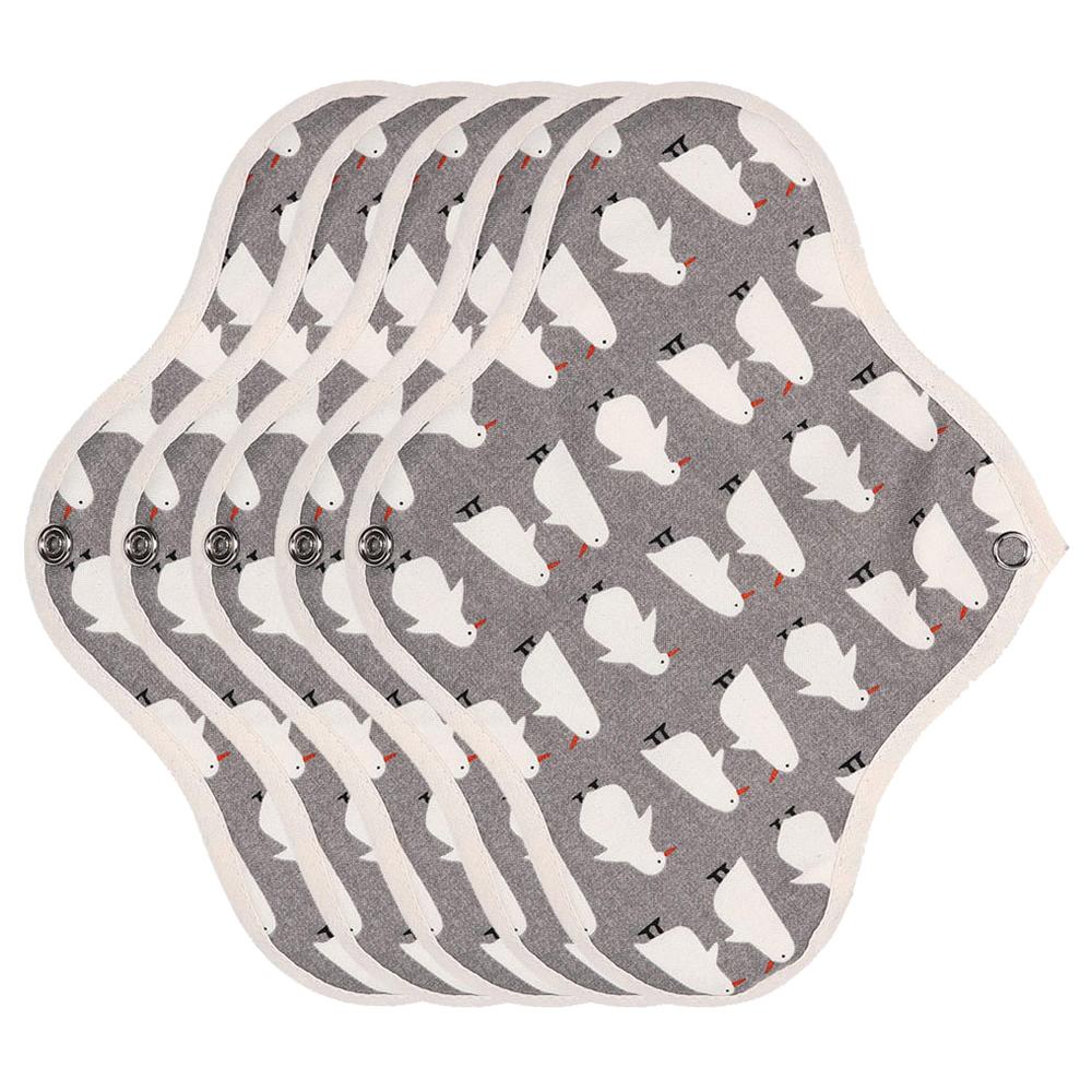 위즐리 면생리대 중형 방수 펭귄, 5개입, 1개