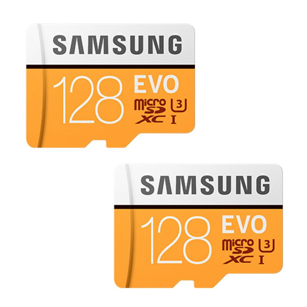 삼성전자 EVO 마이크로 SD 메모리카드 2p, 128GB