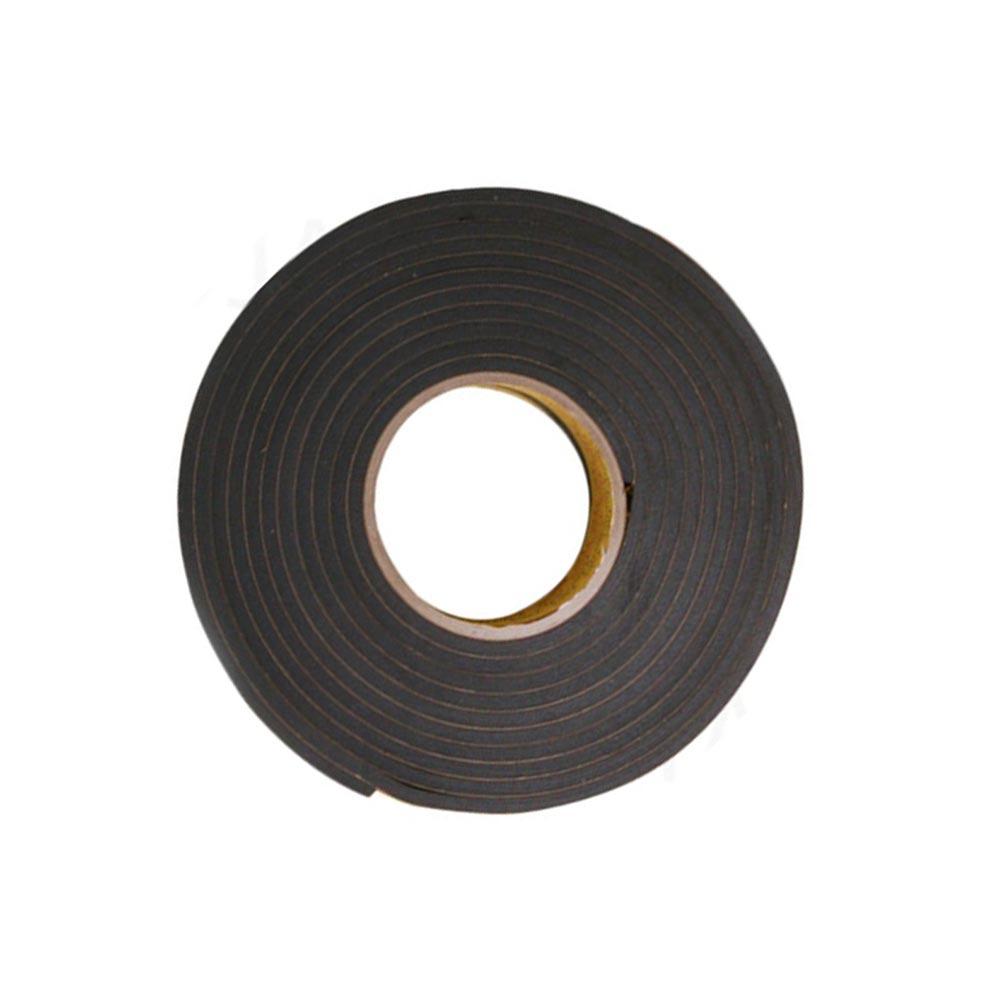 EVA 단면 스폰지테이프 흑색 폭 30mm 두께5mm