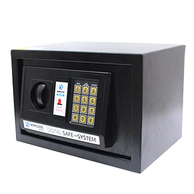 오에이데스크 디지털 충격 감지 안전 금고 20, 블랙