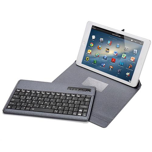 코시 블루투스 스마트폰 태블릿 키보드, KB1389CSBT, 그레이