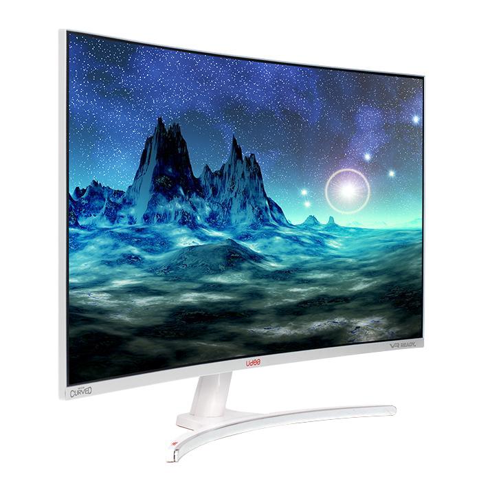 유디아 32형 FHD EDGE 32CH2 유케어 75 게이밍 커브드 TV 모니터 WHITE, 단일 상품