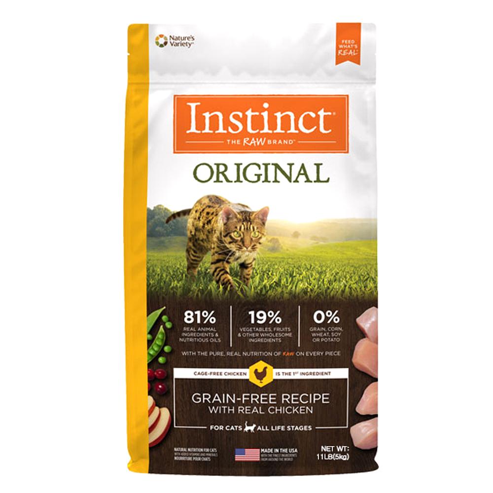 인스팅트 생식본능 오리지날 치킨 캣 키블 고양이 건식사료, 5kg, 1개