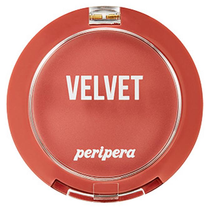 페리페라 핑크의순간 컬렉션 맑게 물든 벨벳 치크 블러셔 4 g, 8호 분위기여신 말린코랄, 1개