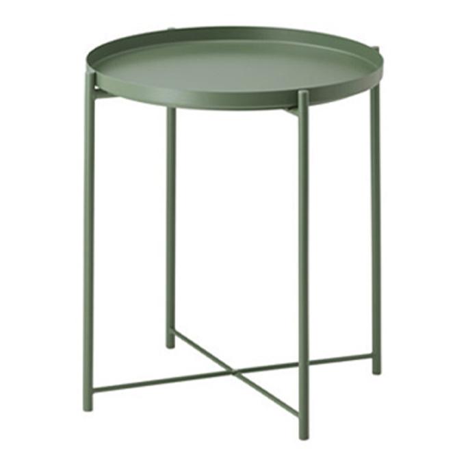 조은리빙 사이드 트레이 테이블, 올리브그린