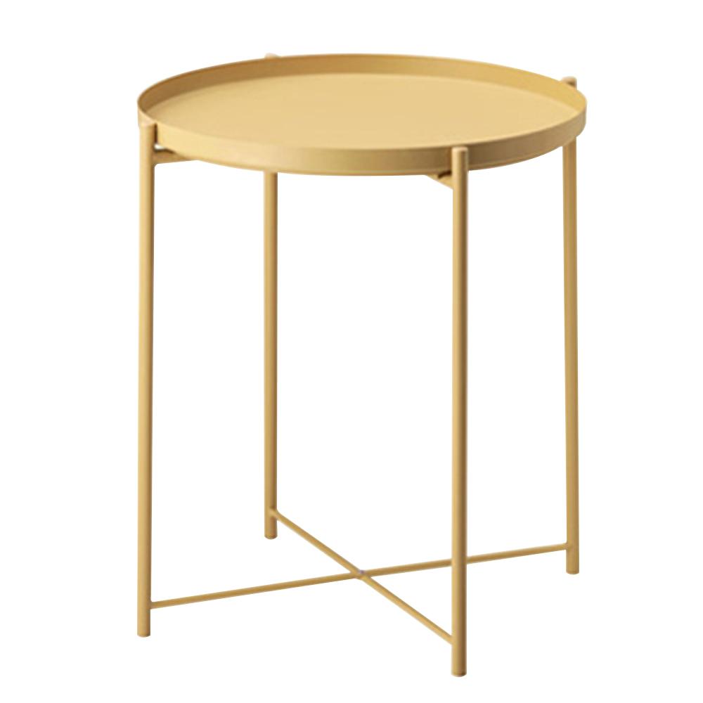 조은리빙 사이드 트레이 테이블, 라이트옐로우