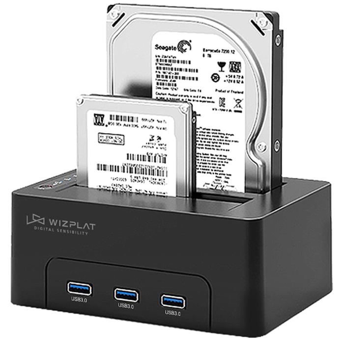 새로텍 위즈플랫 하드 도킹 스테이션 WIZ-3082H