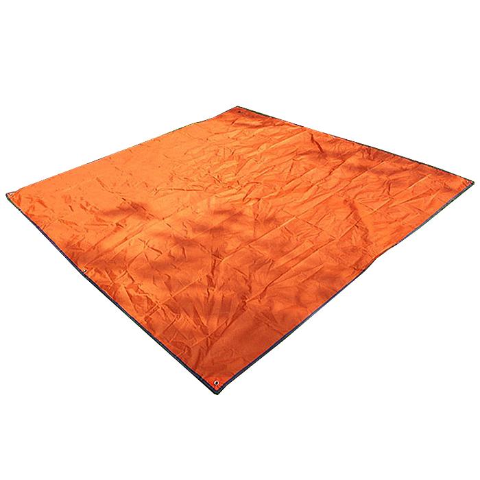 KOOLMAN(쿨맨) 경량 그라운드 텐트 방수포 (비상 미니타프겸용), 오렌지