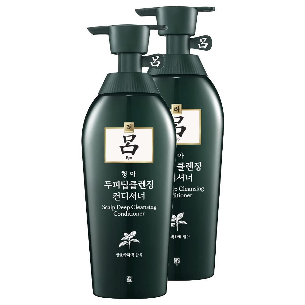 려 청아 두피딥클렌징 컨디셔너, 500ml, 2개