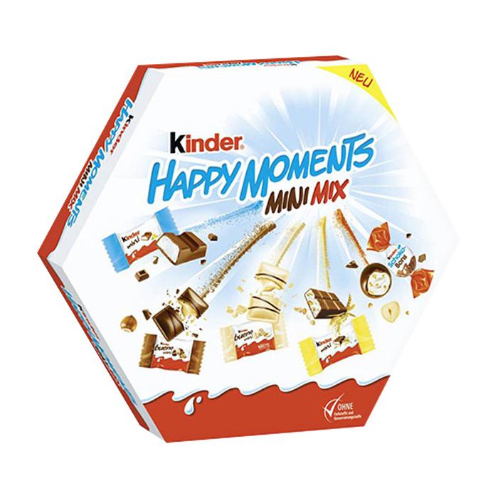 킨더 해피 모먼츠 미니 믹스 초콜릿, 162g, 1개