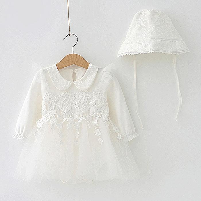 엠케이 샤랄라 보넷 유아 드레스