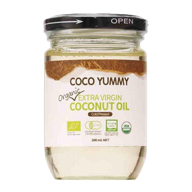 코코야미 유기농 엑스트라버진 코코넛 오일, 200ml, 1개