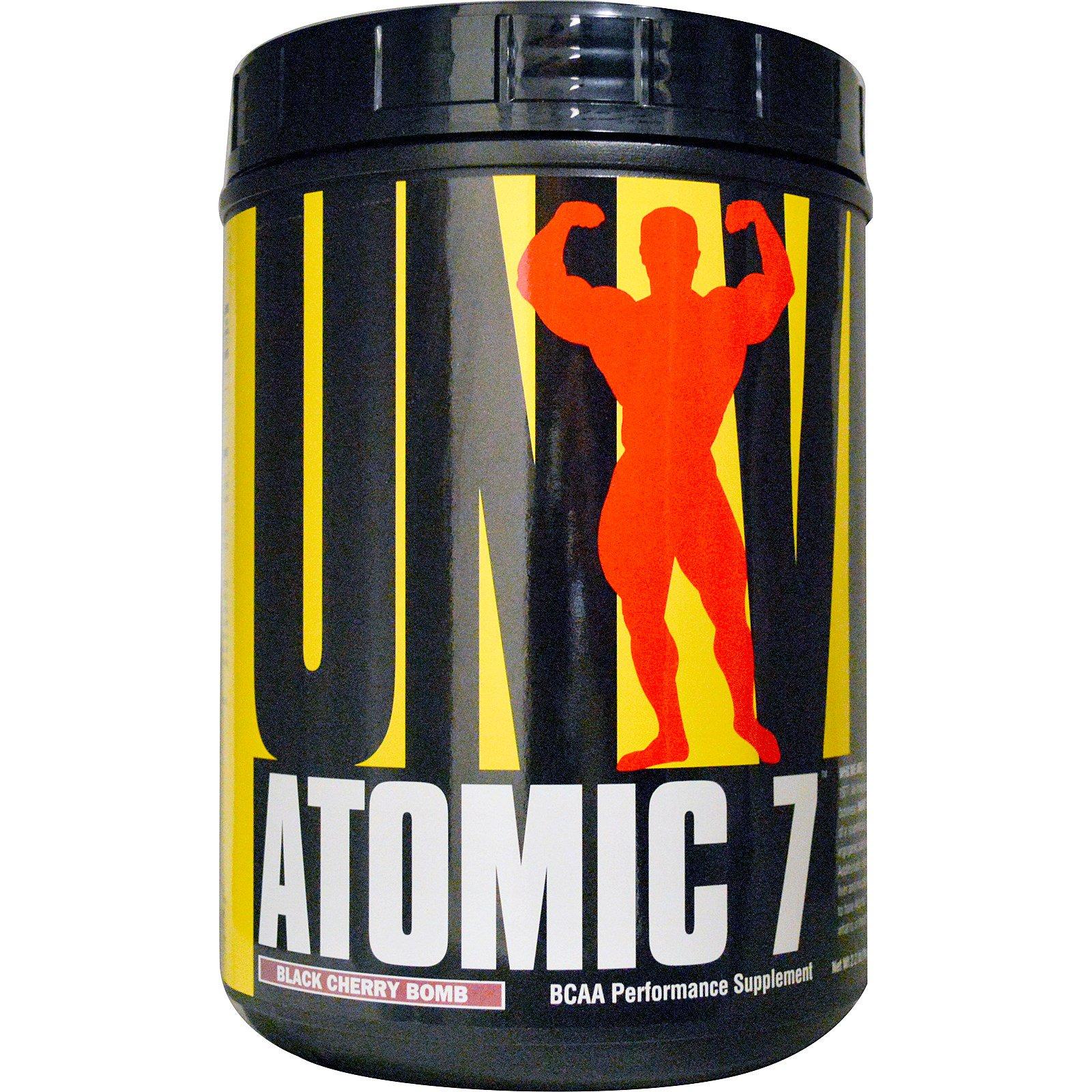 유니버셜뉴트리션 아토믹 7 BCAA 퍼포먼스 서플먼트, 1kg, Black Cherry Bomb