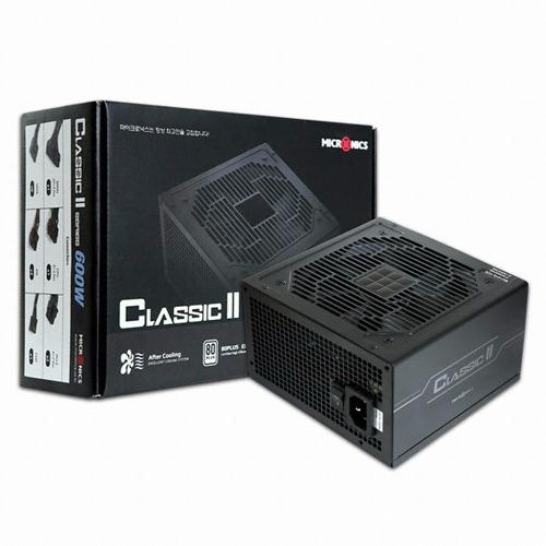 마이크로닉스 Classic 2 600W 파워서플라이, HPG-600BR-H12S