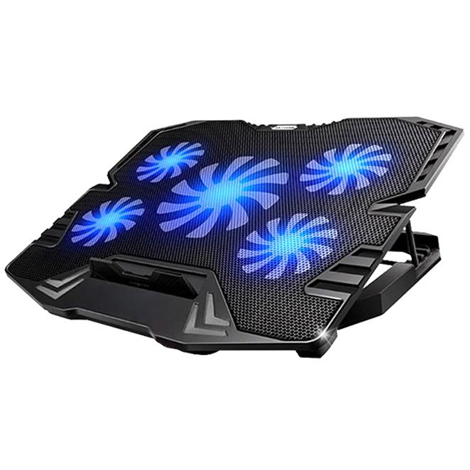 시스템게이트 얼리봇 Gaming Notebook Cooling Pad 태풍K5, 블랙