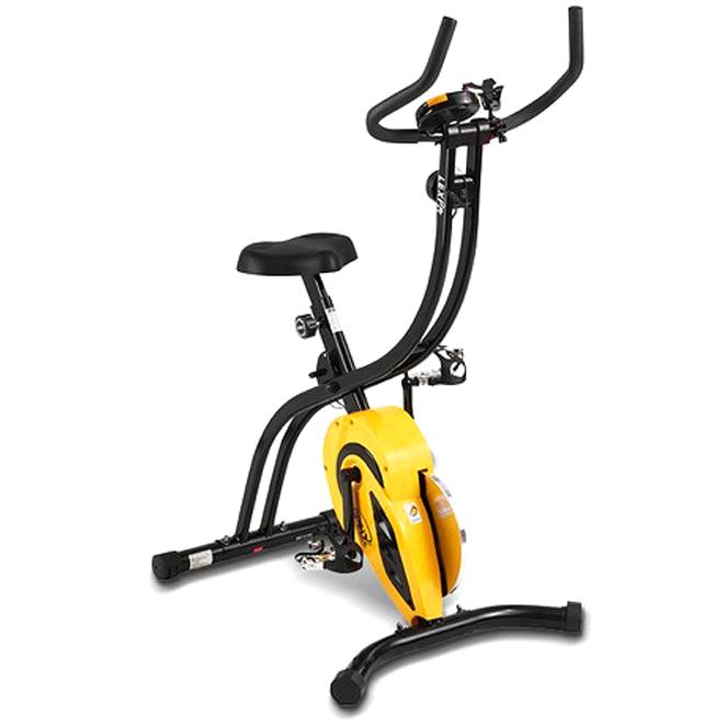 실내 스피닝 자전거 스핀엑스 YA-420, 옐로우