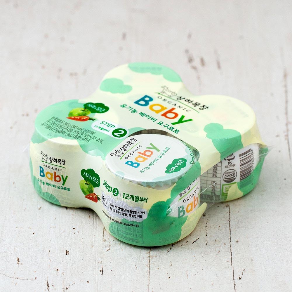 상하목장 유기농인증 베이비 사과당근 85g, 4개입
