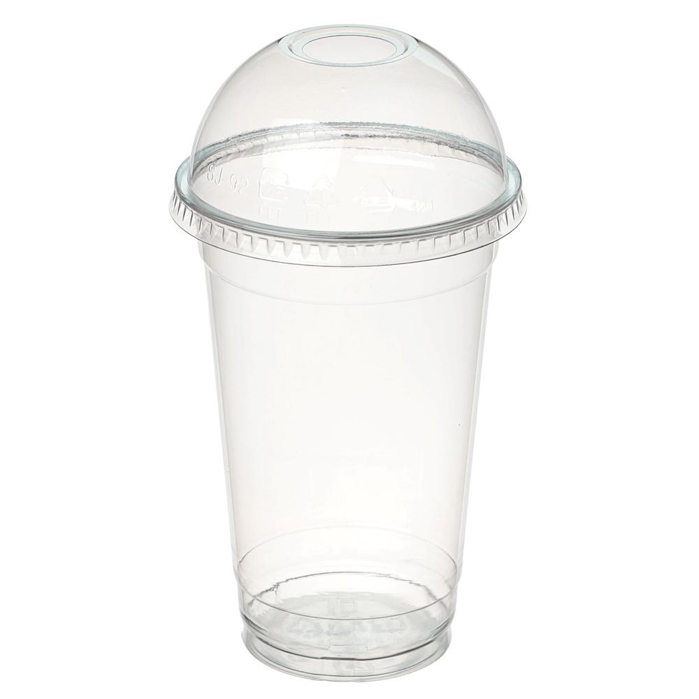 [아이스컵] 커피촌 PET컵 + 돔뚜껑, 100개, 1세트 - 랭킹7위 (11200원)