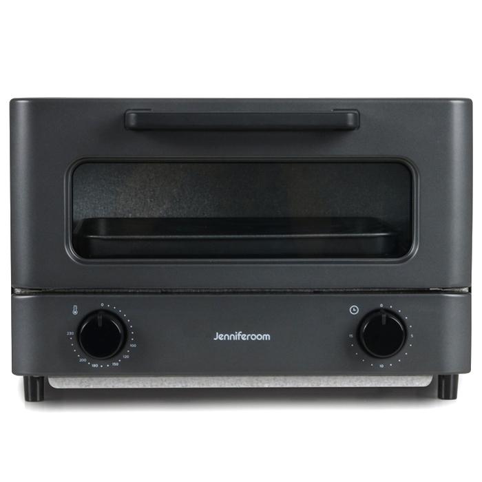 제니퍼룸 컴팩트 오븐 토스터, JOT-M81510CH(차콜)