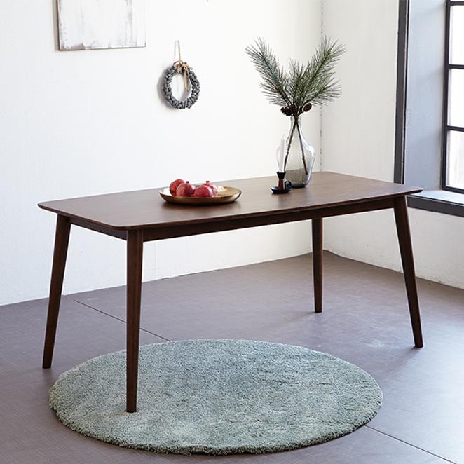 모디디 TAGA 6인용 원목 식탁테이블, 엔틱